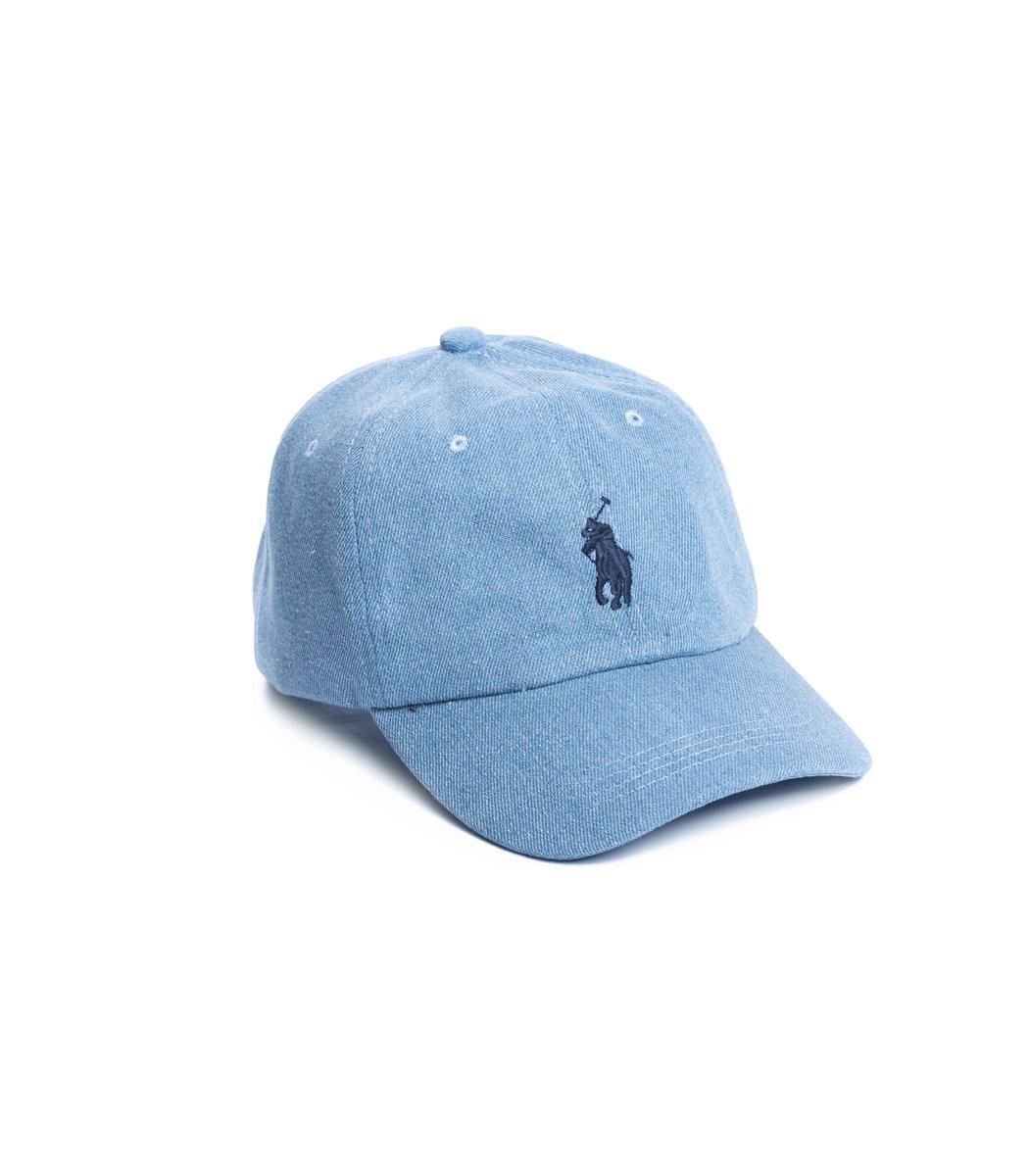 Кепка POLO Ralph Lauren Premiere Голубой/синий - Голубой - Вид 1