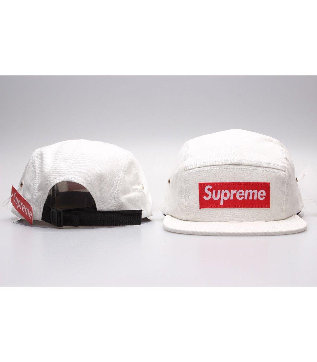 Кепка Supreme Classic (белый/красный)