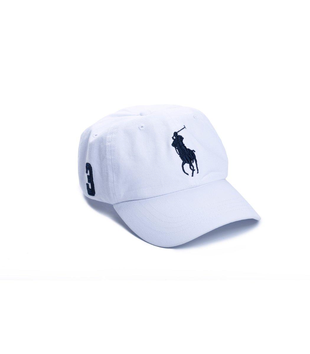 Кепка POLO Ralph Lauren Classic 3 Белый/синий
