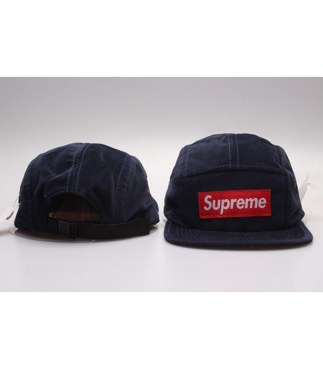 Кепка Supreme Classic (тёмно-синий/красный)