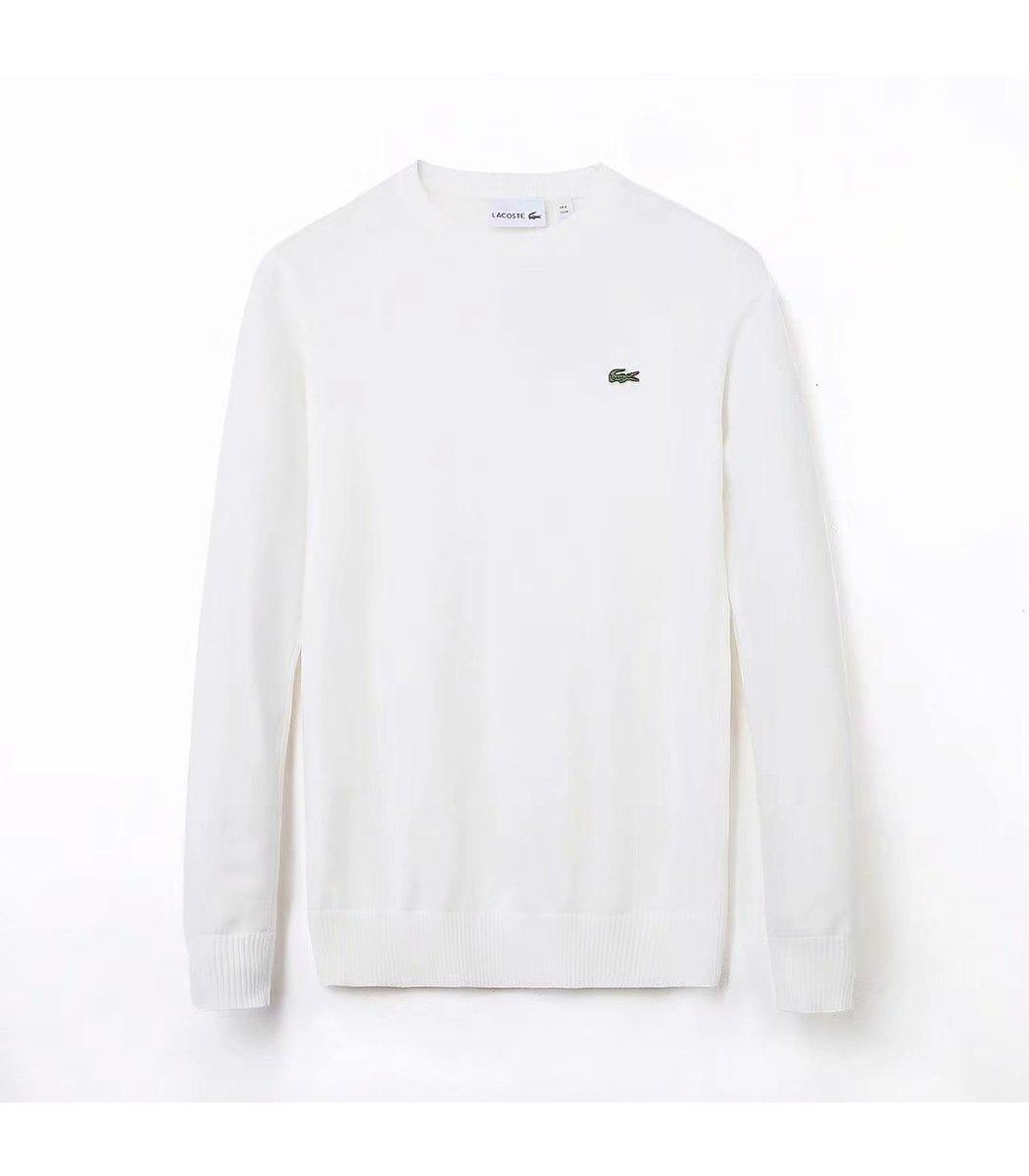 Белый джемпер Lacoste JL2