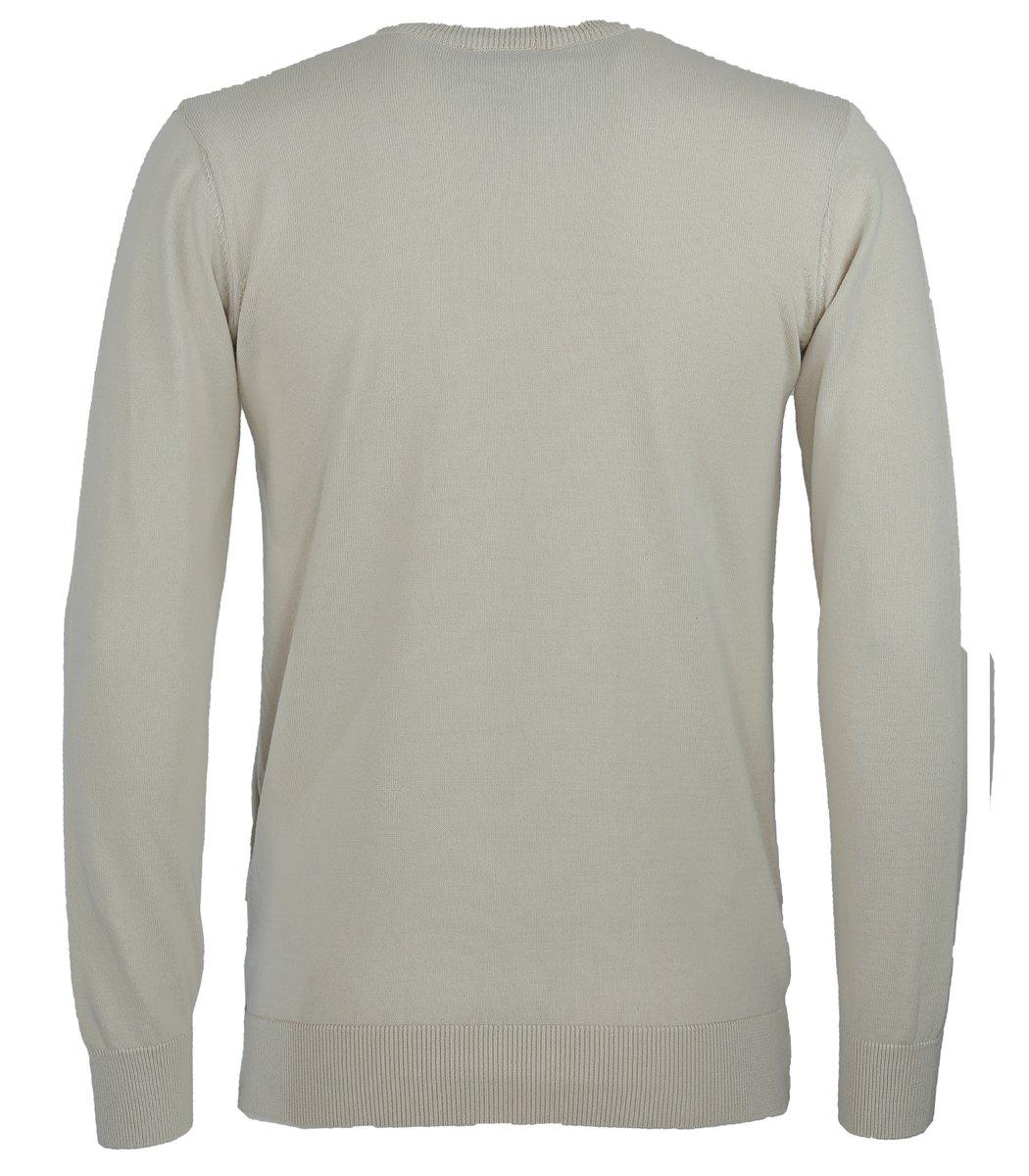 Бежевый пуловер Lacoste VL5