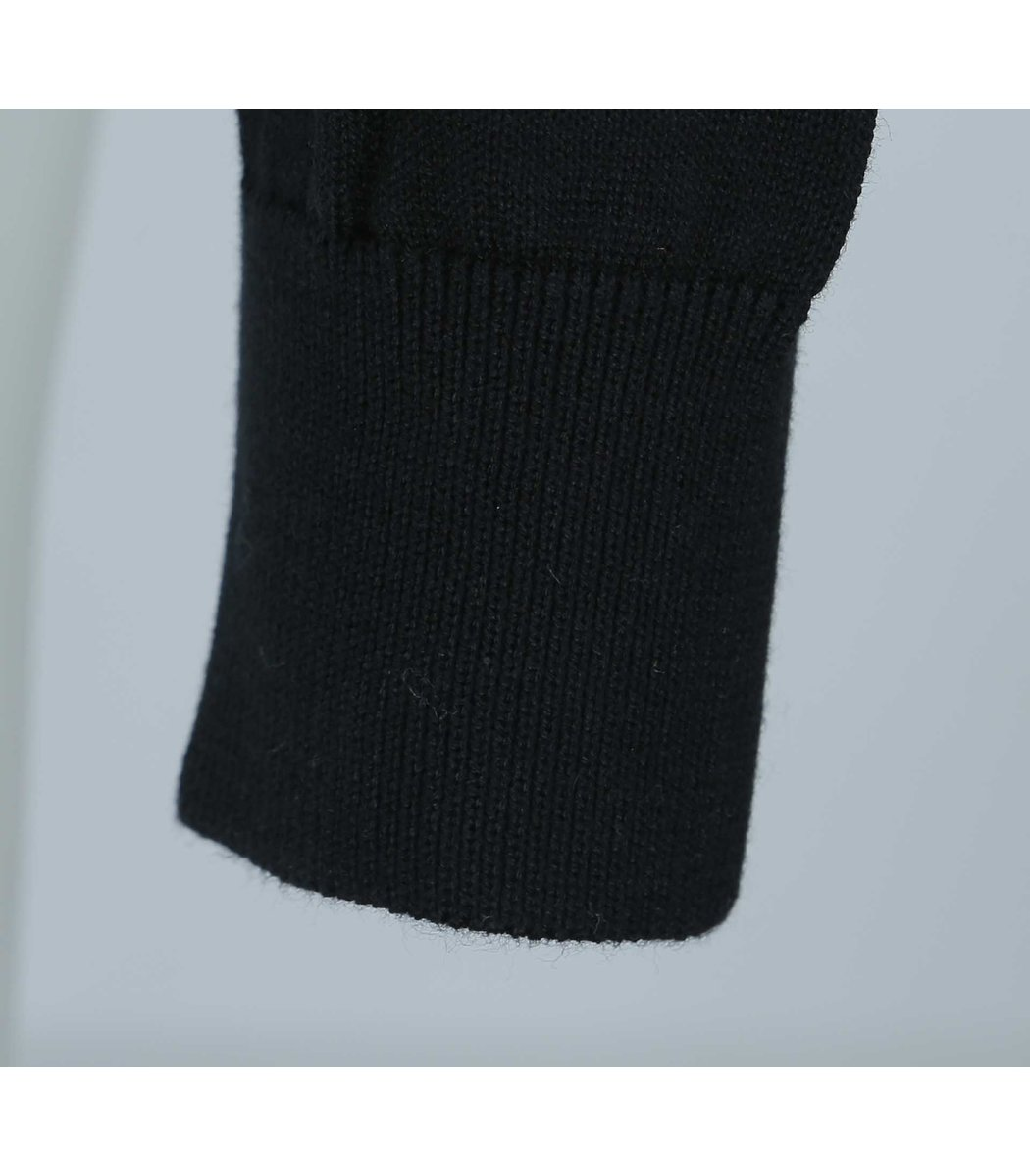 Тёмно-синий пуловер Lacoste VL5