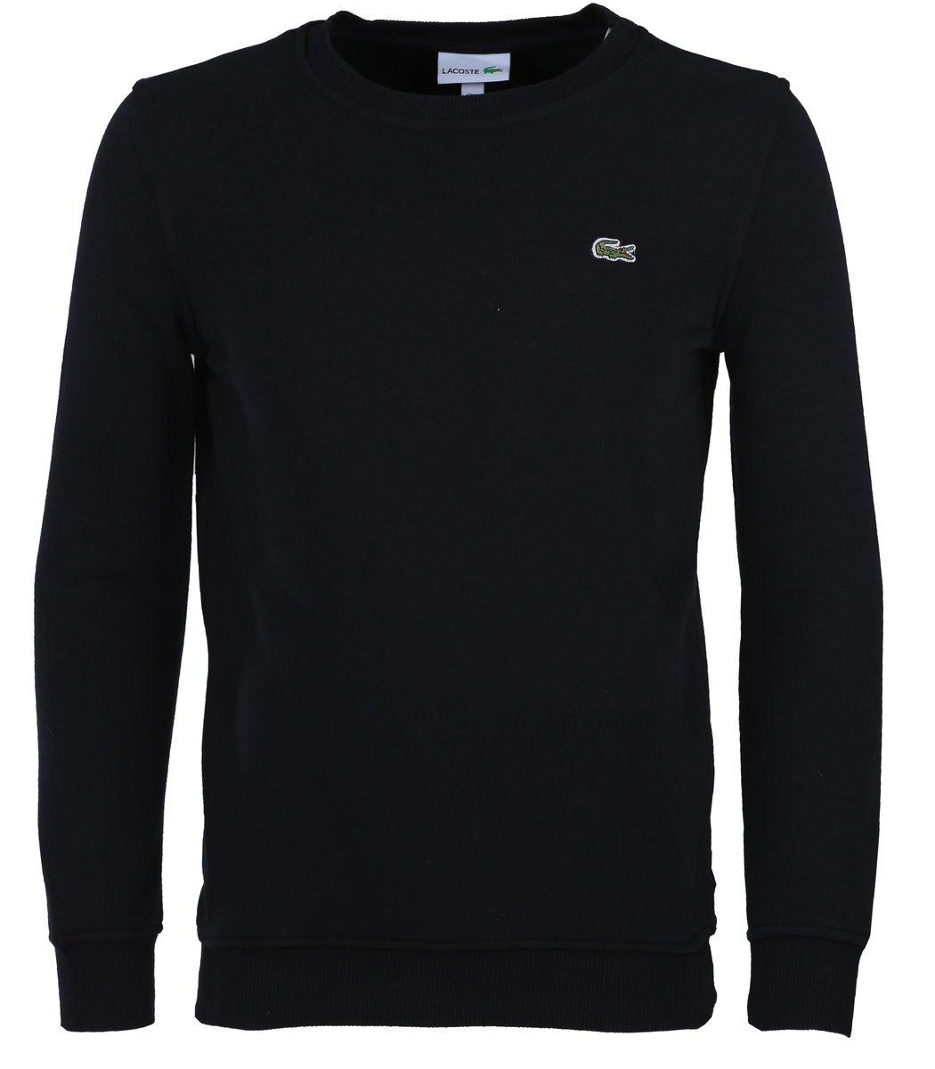 Тёмно-синий свитшот Lacoste SL1