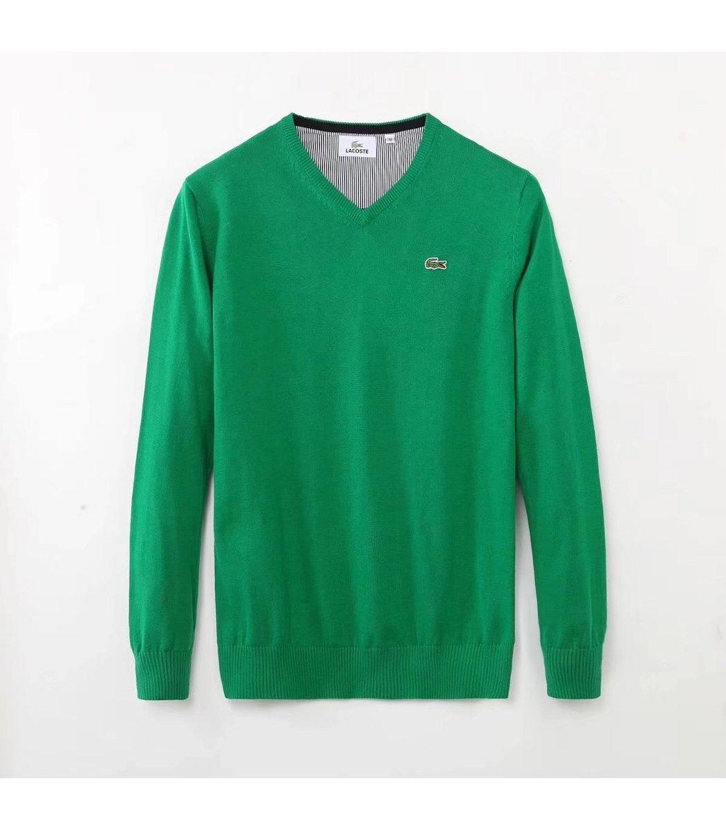 Зеленый пуловер Lacoste VL3