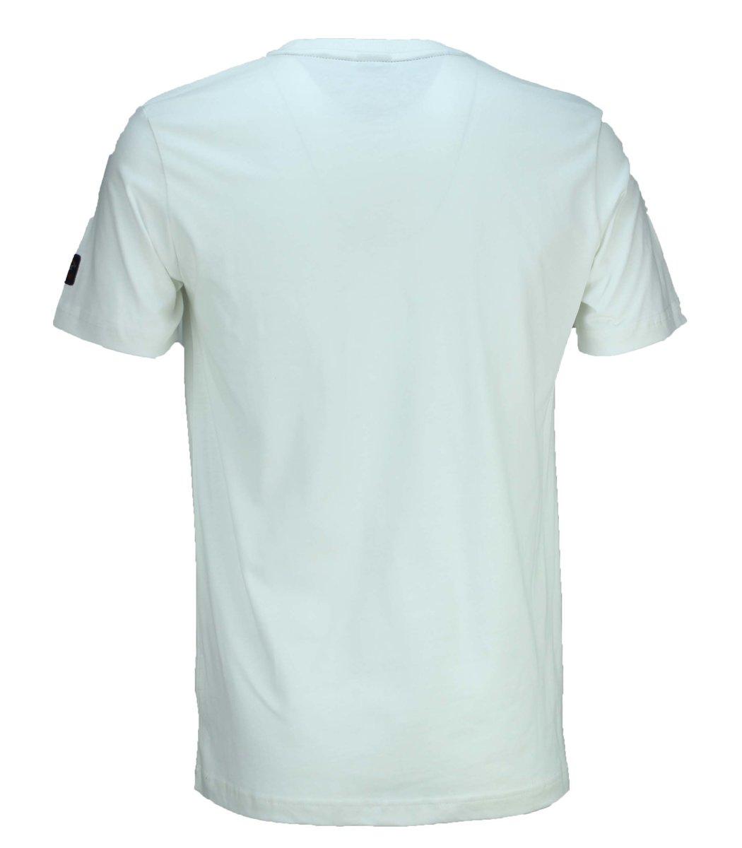 Белая футболка Paul&Shark с вышивкой FP5