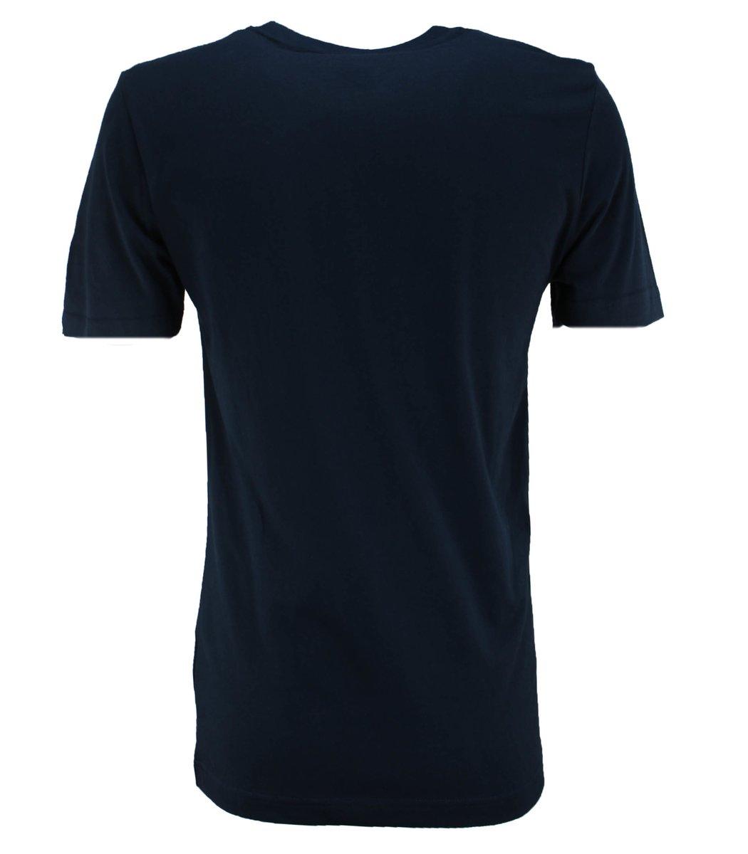 Тёмно-синяя футболка Paul&Shark с принтом FP4
