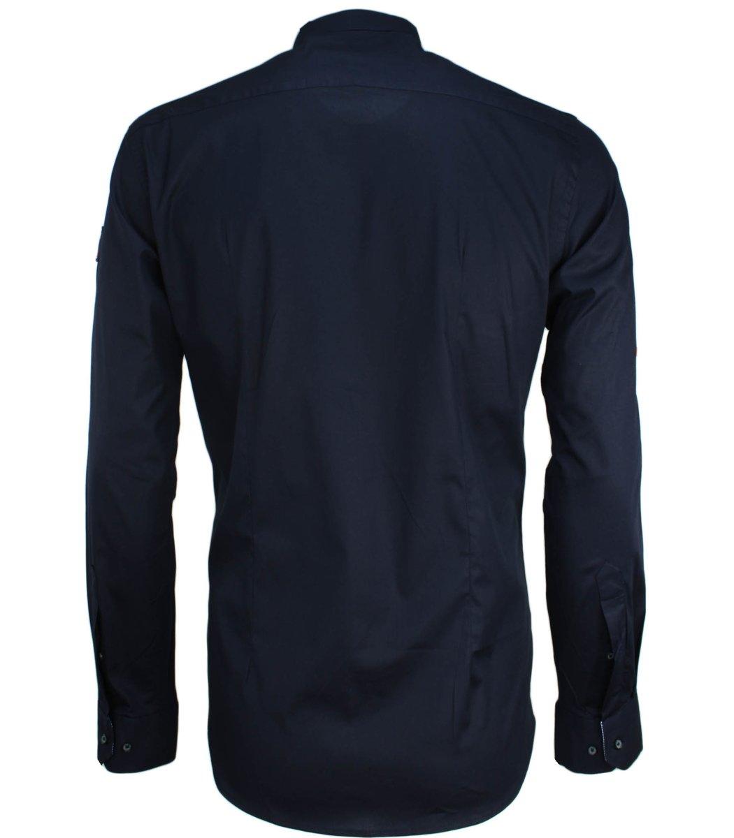 Тёмно-синяя рубашка Paul&Shark RP5 (2894)