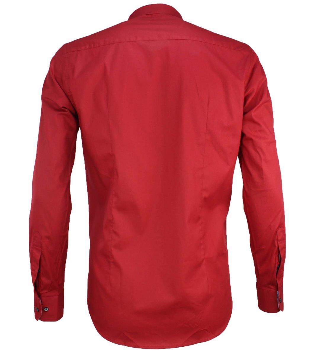 Красная рубашка Paul&Shark RP5 (2894)