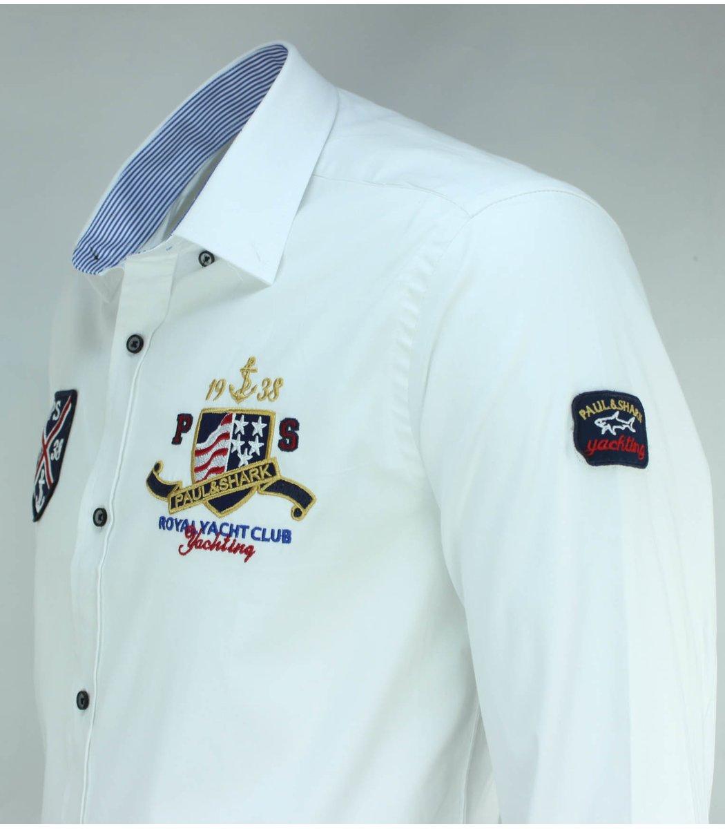 Белая рубашка Paul&Shark RP5 (2894)