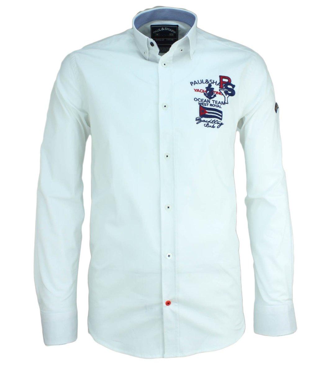 Белая рубашка Paul&Shark RP3 (2895)
