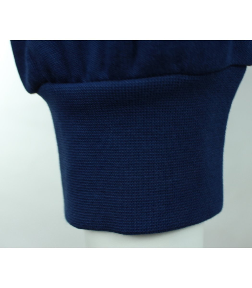 Синее поло с длинным рукавом Paul Shark PF2