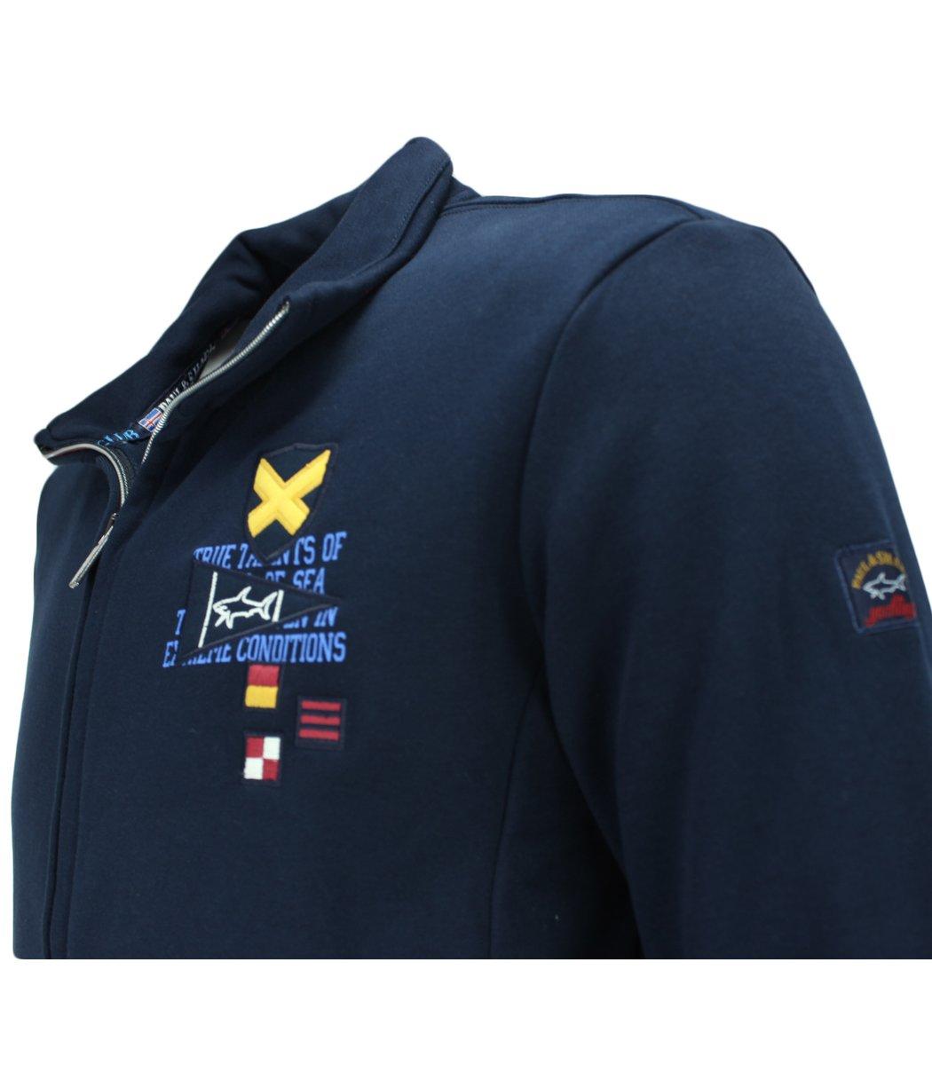 Тёмно-синий спортивный костюм Paul Shark 11086