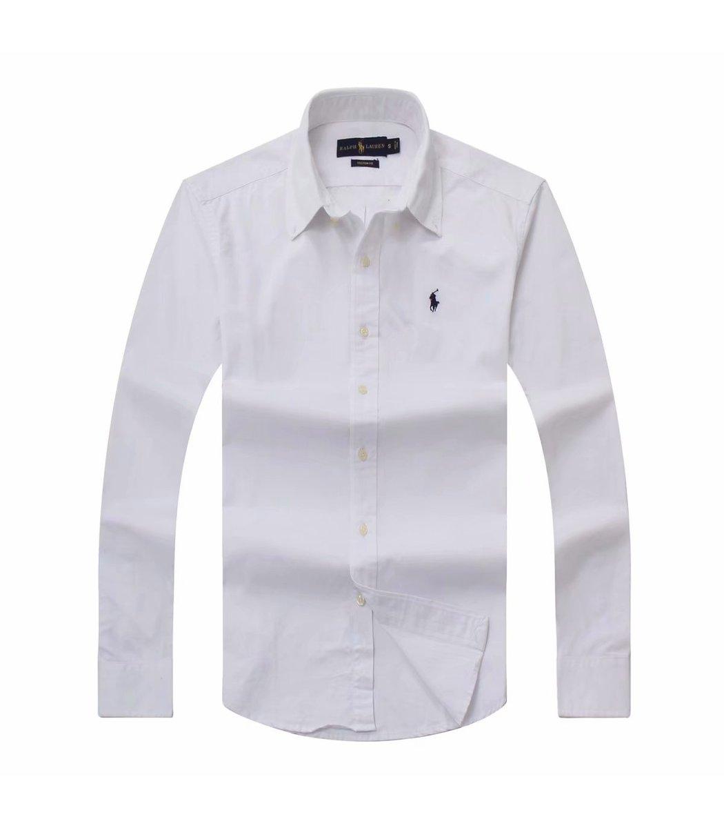 Белая рубашка POLO Ralph Lauren RR1