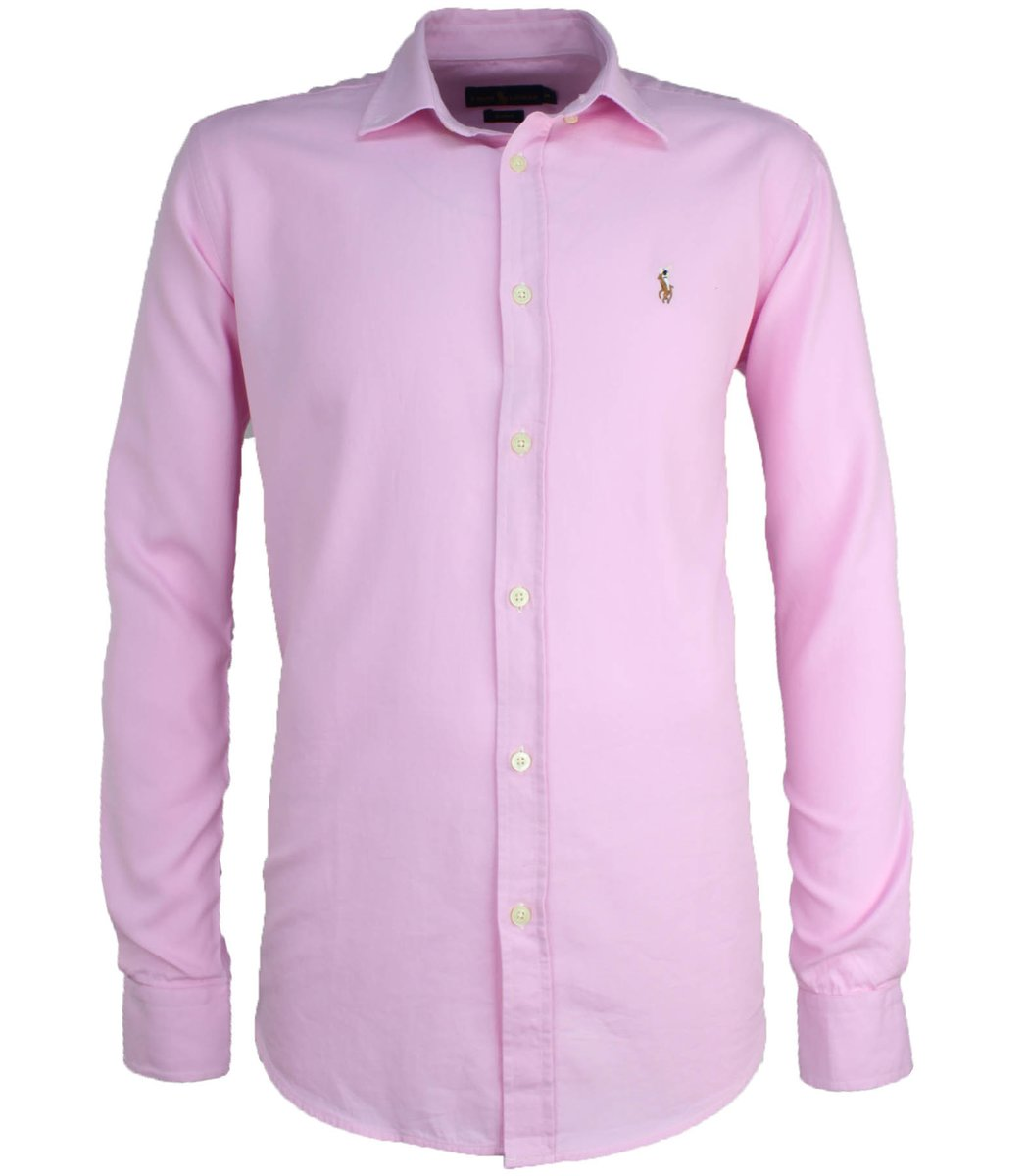 Розовая рубашка POLO Ralph Lauren RR3-T