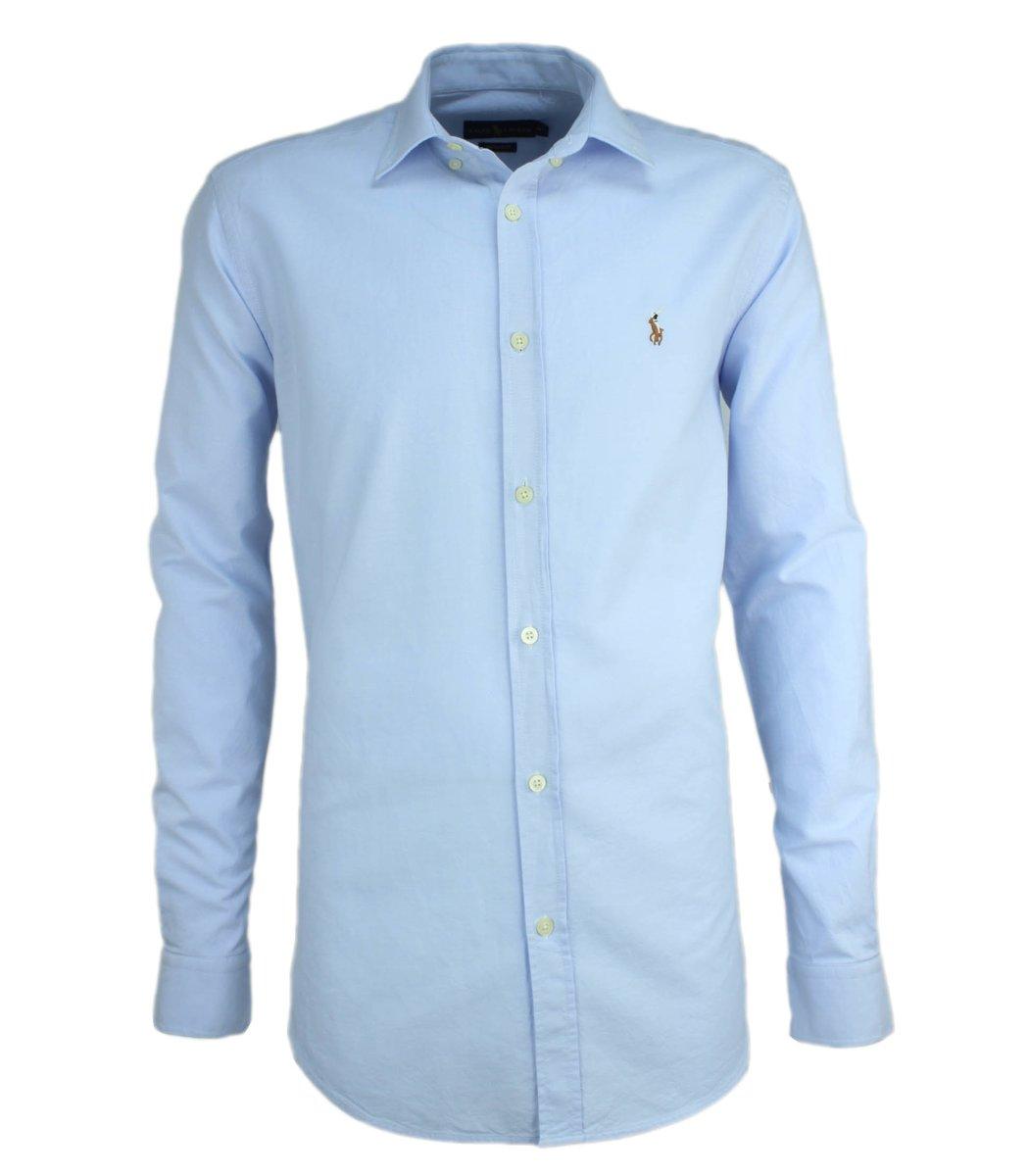 Светло-голубая рубашка POLO Ralph Lauren RR3-T