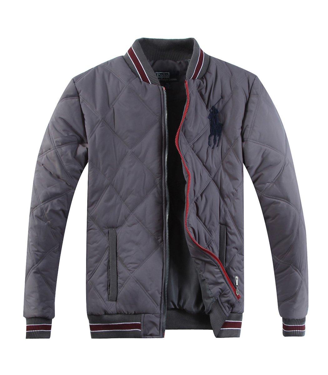 Куртка-бомбер POLO Ralph Lauren KR4 (Серый)
