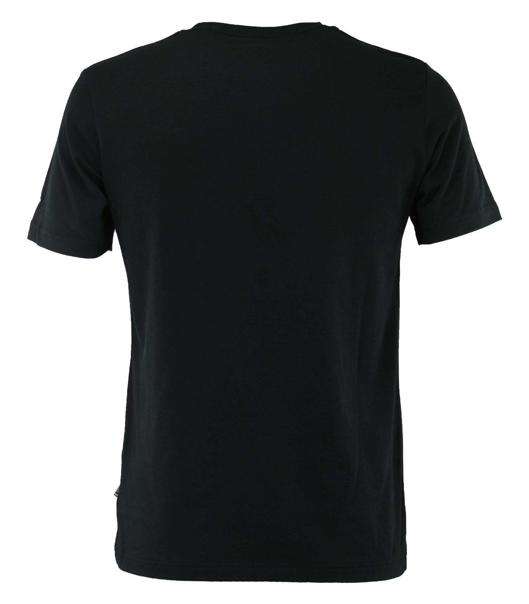 Чёрная футболка Tommy Hilfiger с принтом FT1