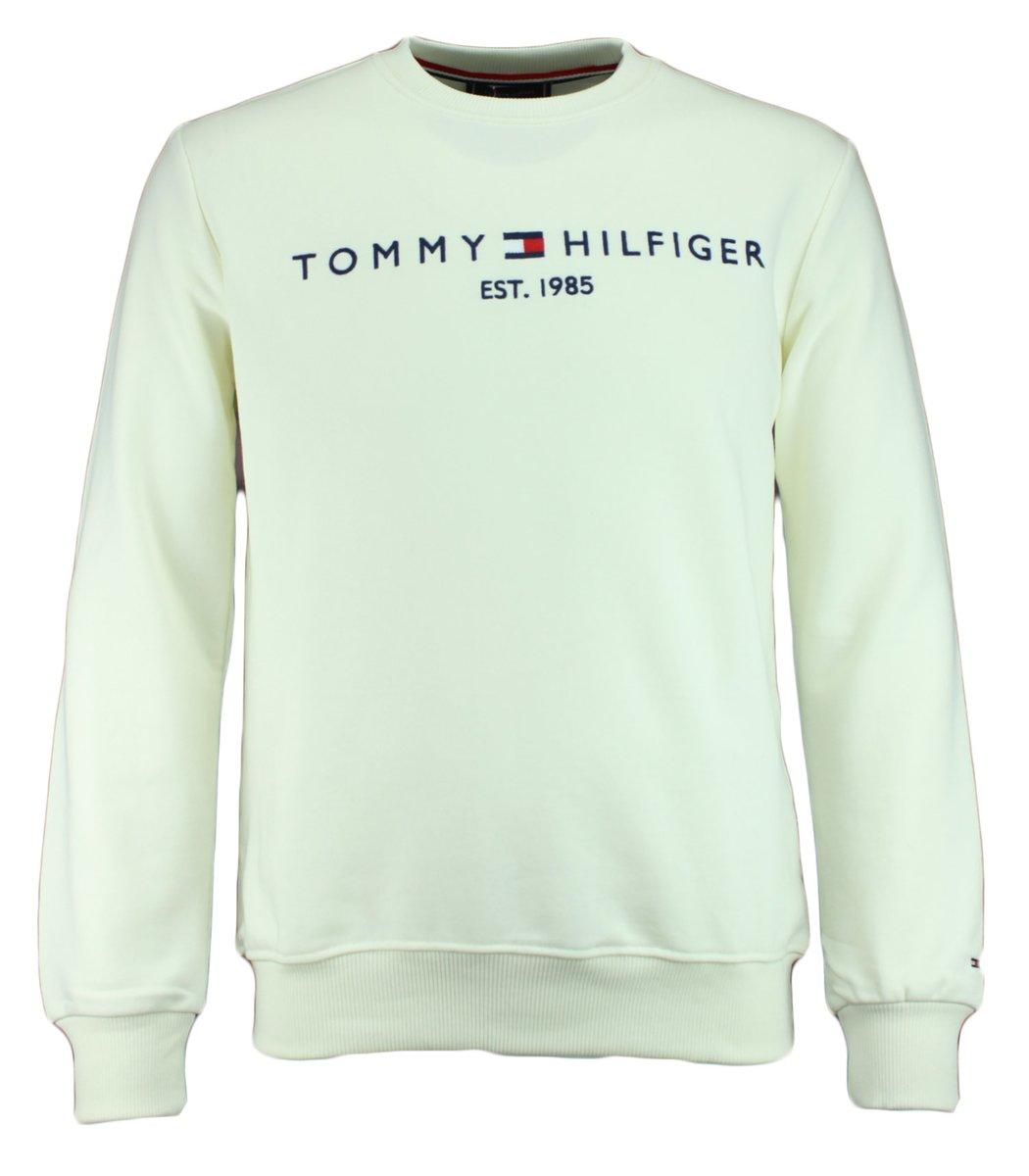 Белый свитшот  Tommy Hilfiger STH1