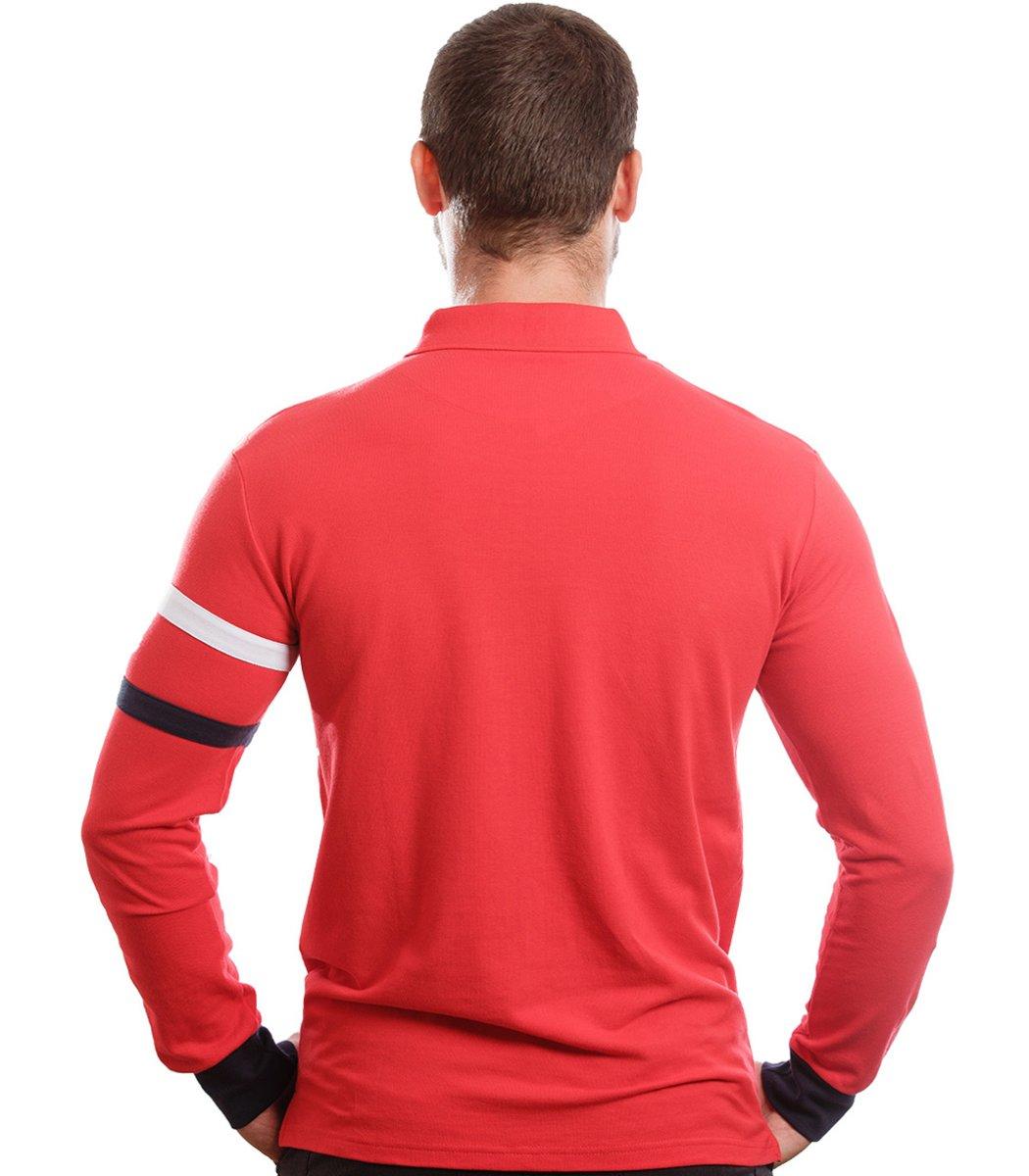 Поло с длинным рукавом Hackett PH1 (Красный)