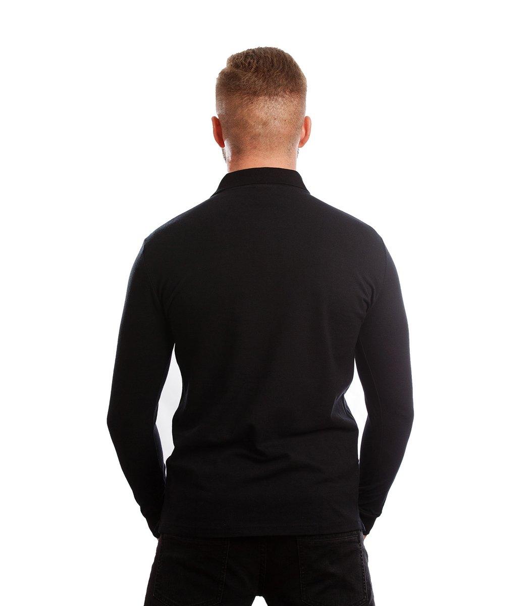 Поло с длинным рукавом Lacoste Classic (Черный)