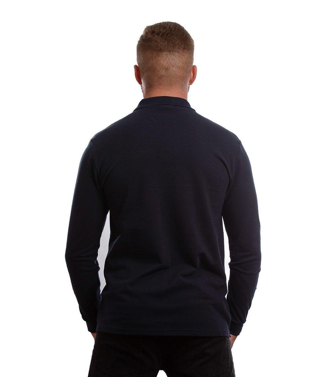 Поло с длинным рукавом Lacoste Classic (Темно-синий)