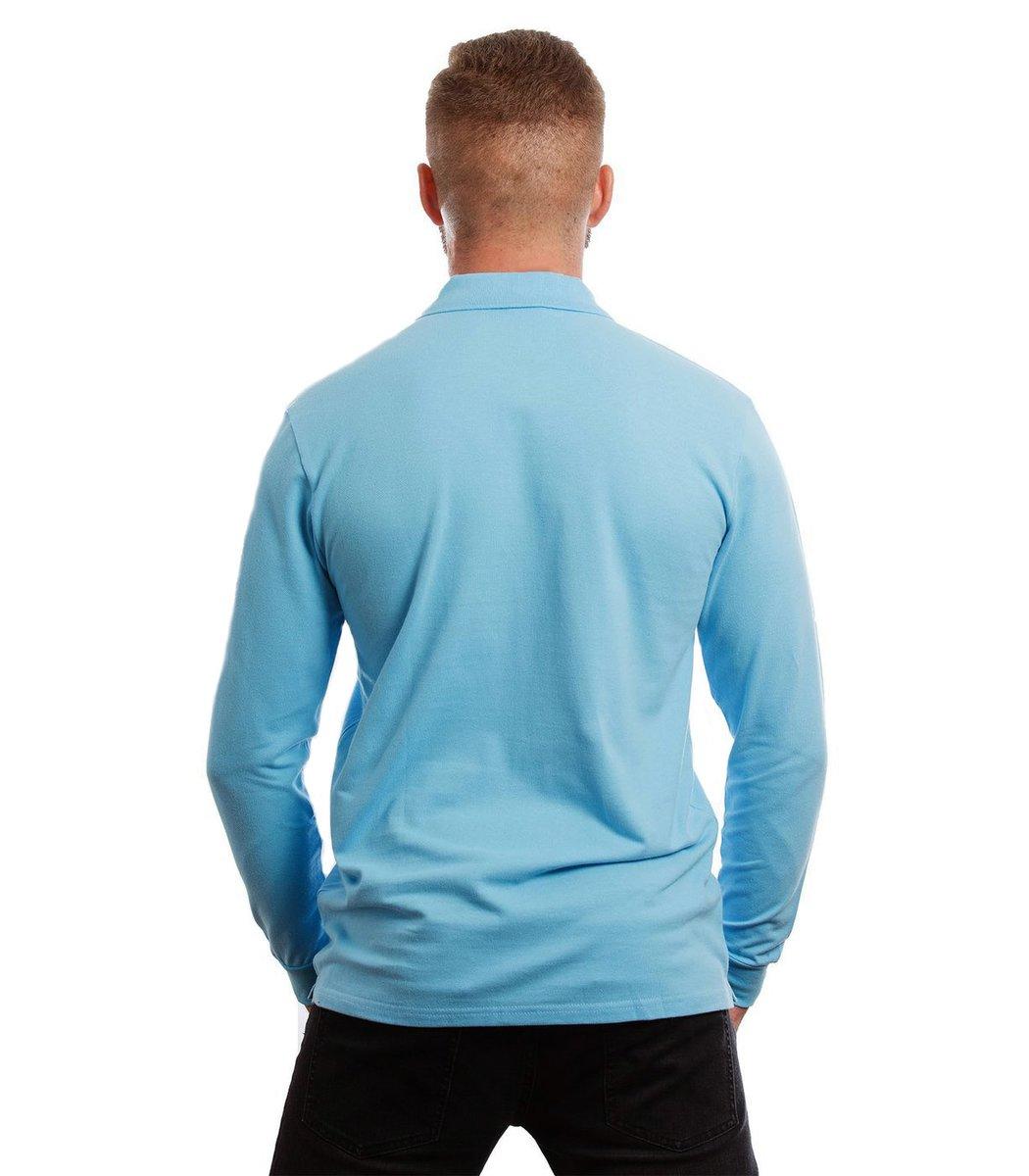 Поло с длинным рукавом Lacoste Classic (Светло-голубой)