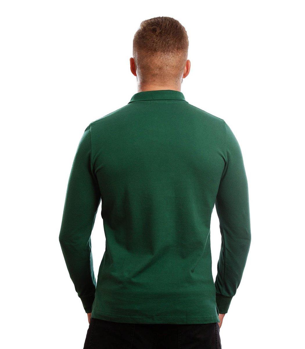 Зеленое поло с длинным рукавом POLO Ralph Lauren PR1  - Зеленый - Вид 6