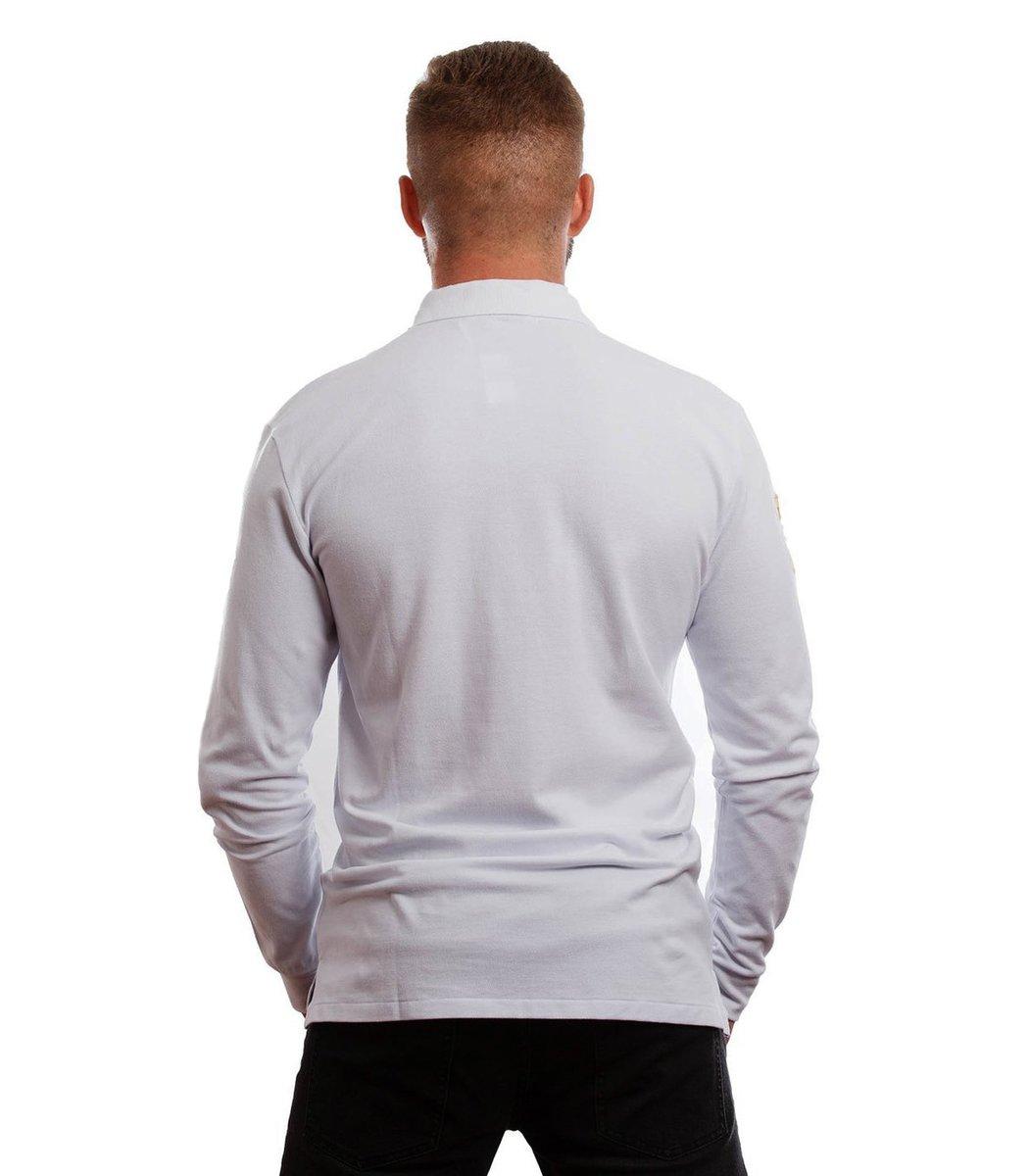 Поло с длинным рукавом POLO Ralph Lauren PR2 (Белый) - Белый - Вид 6