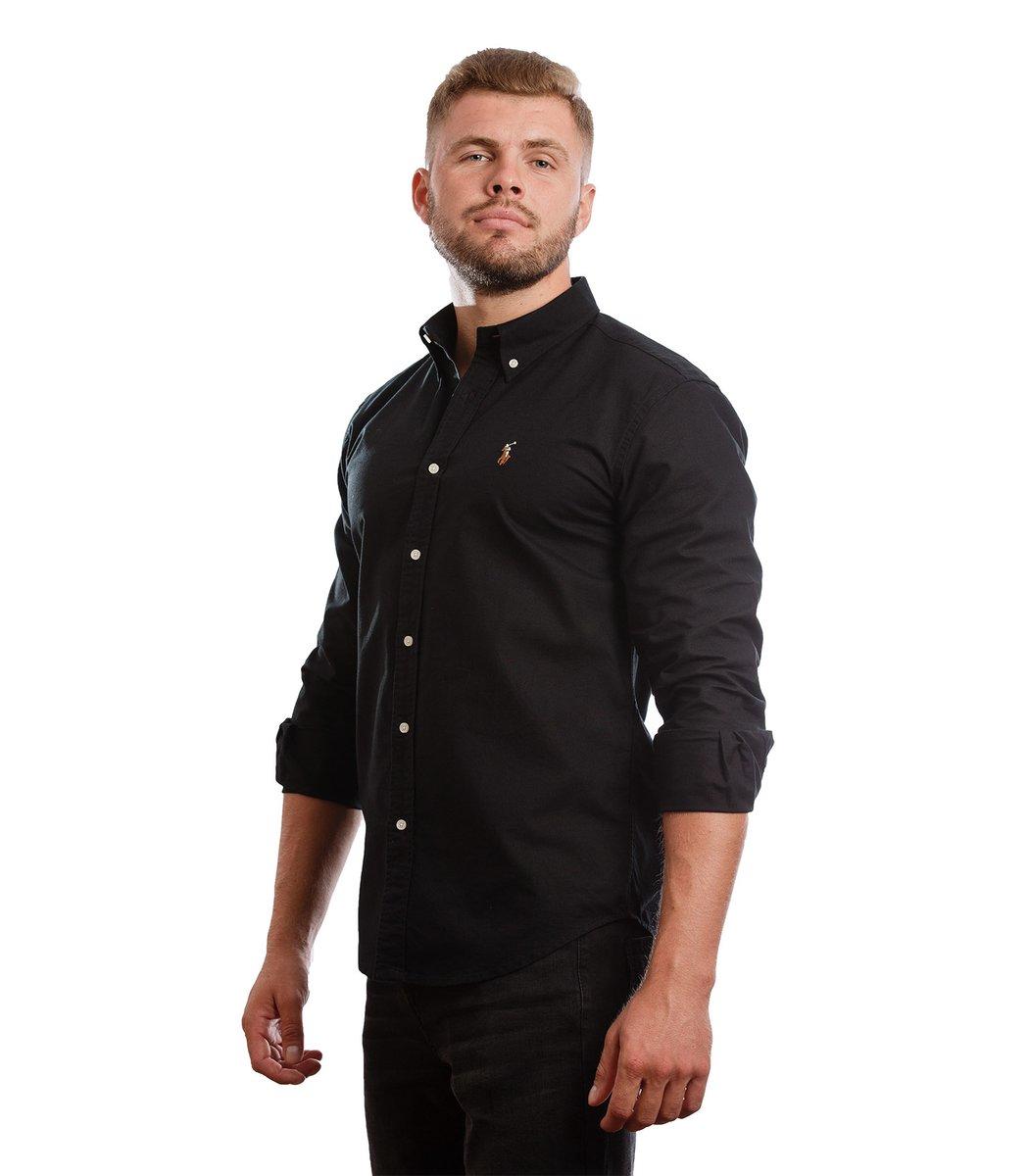 Рубашка POLO Ralph Lauren RR3 (Черный) - Черный - Вид 4