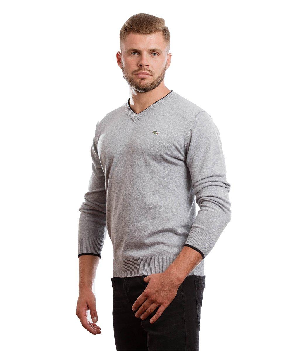 Пуловер Lacoste VL1 (Серый)