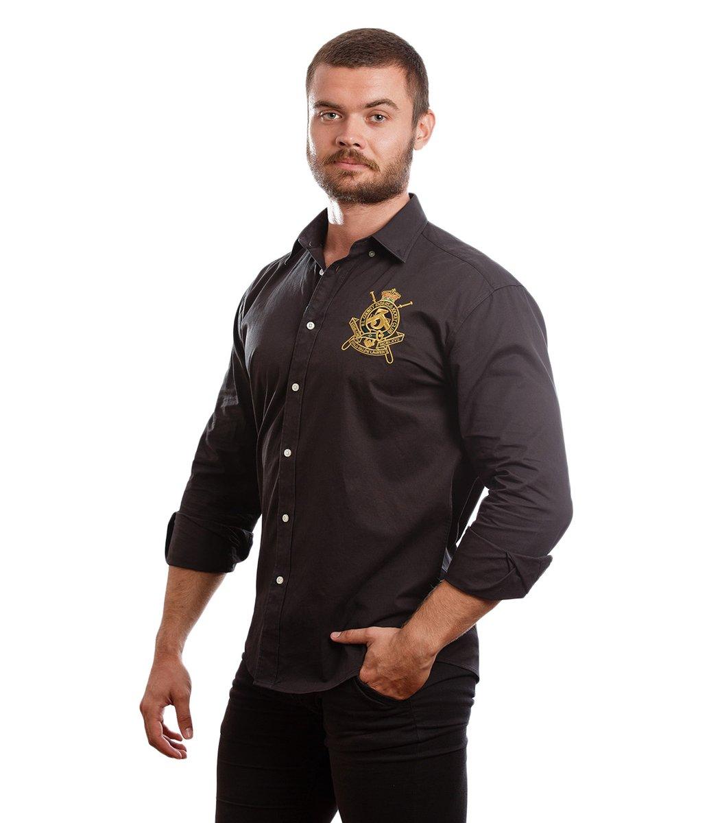 Рубашка POLO Ralph Lauren RR2 (Черный)