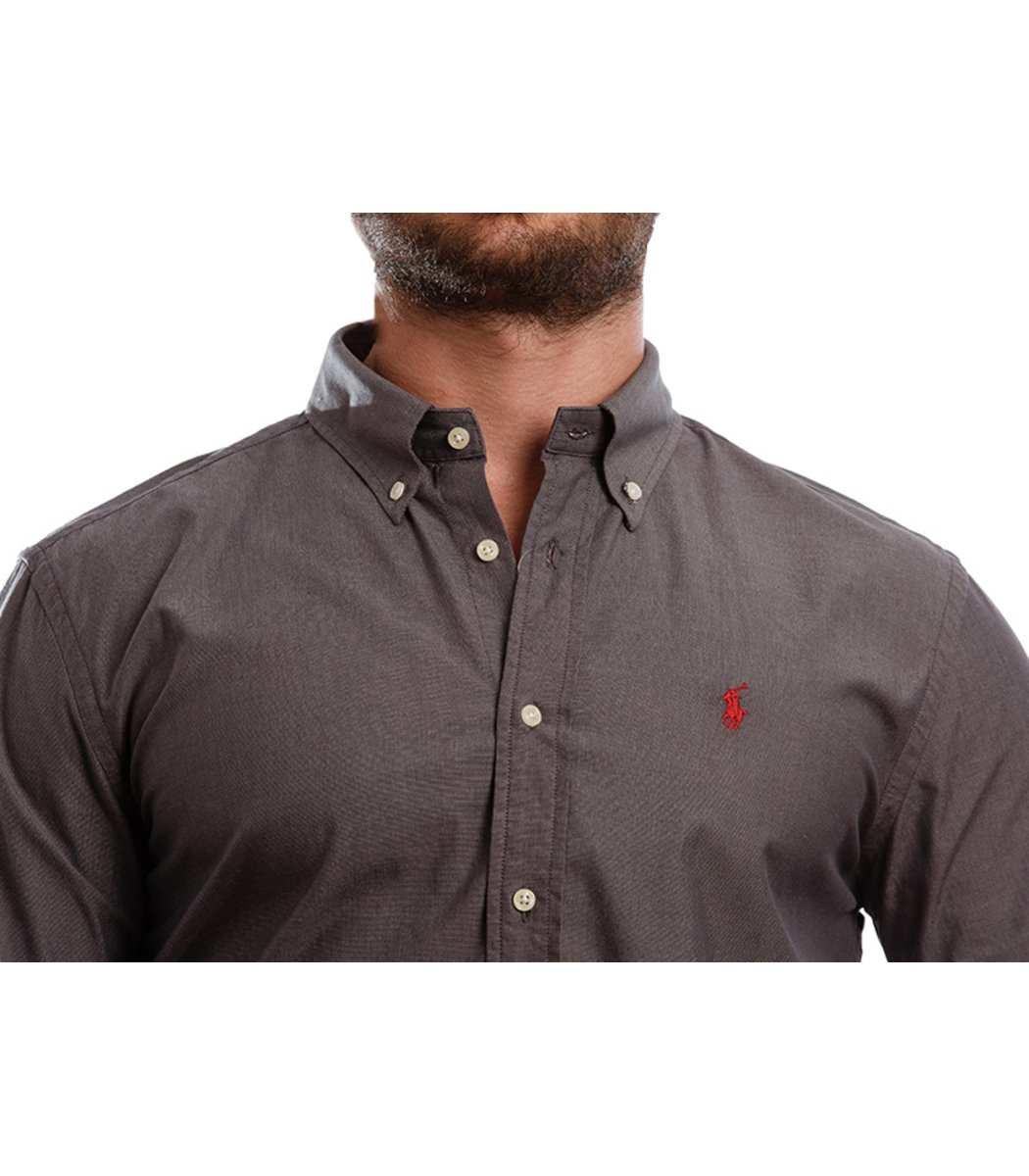 Рубашка POLO Ralph Lauren RR1 (Темно-серый) - Темно серый - Вид 5
