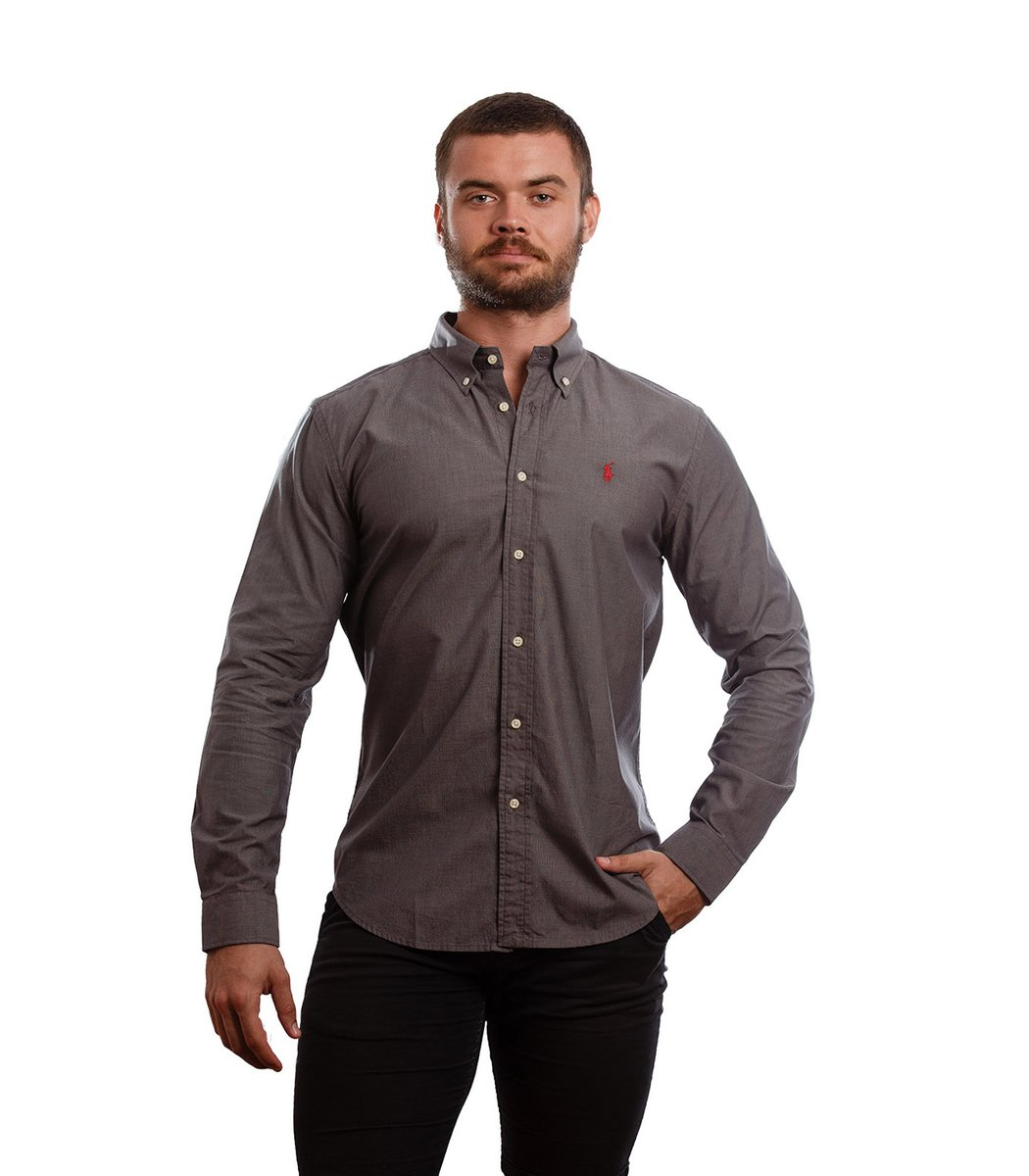 Рубашка POLO Ralph Lauren RR1 (Темно-серый) - Темно серый - Вид 2