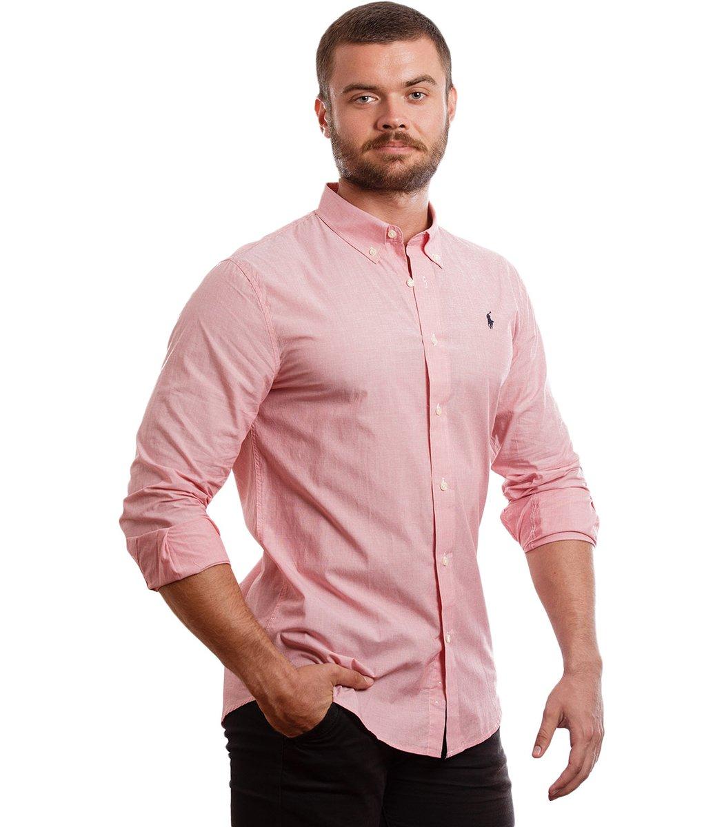 Рубашка POLO Ralph Lauren RR1 (Светло-розовый)