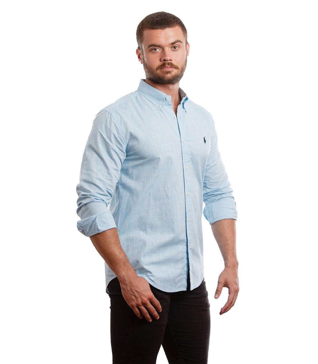 Рубашка POLO Ralph Lauren RR1 (Cветло-синий)
