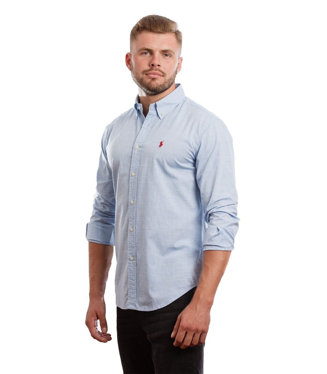 Рубашка POLO Ralph Lauren RR1 (Небесно-голубой)