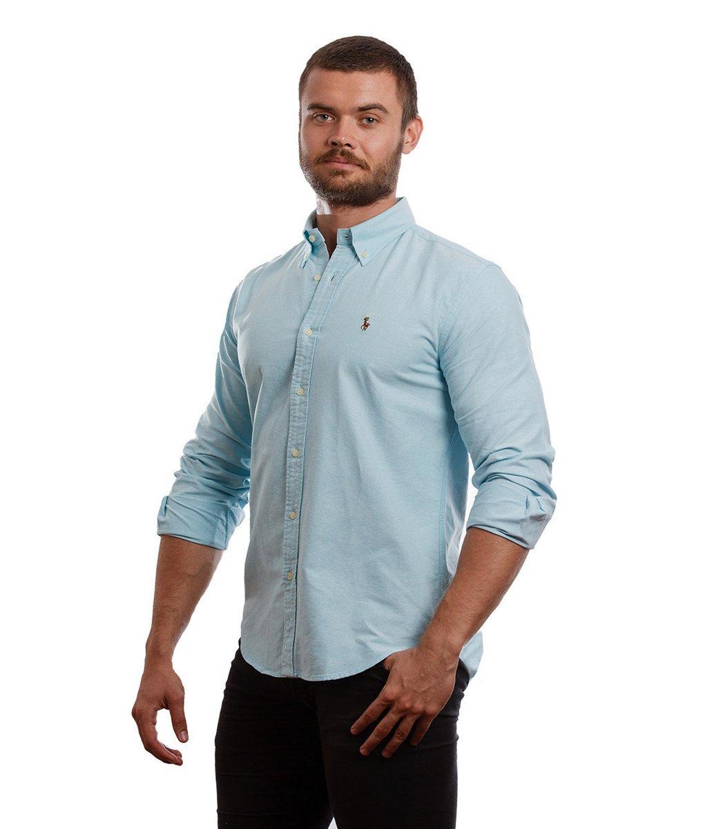 Рубашка POLO Ralph Lauren RR3 (Голубой)