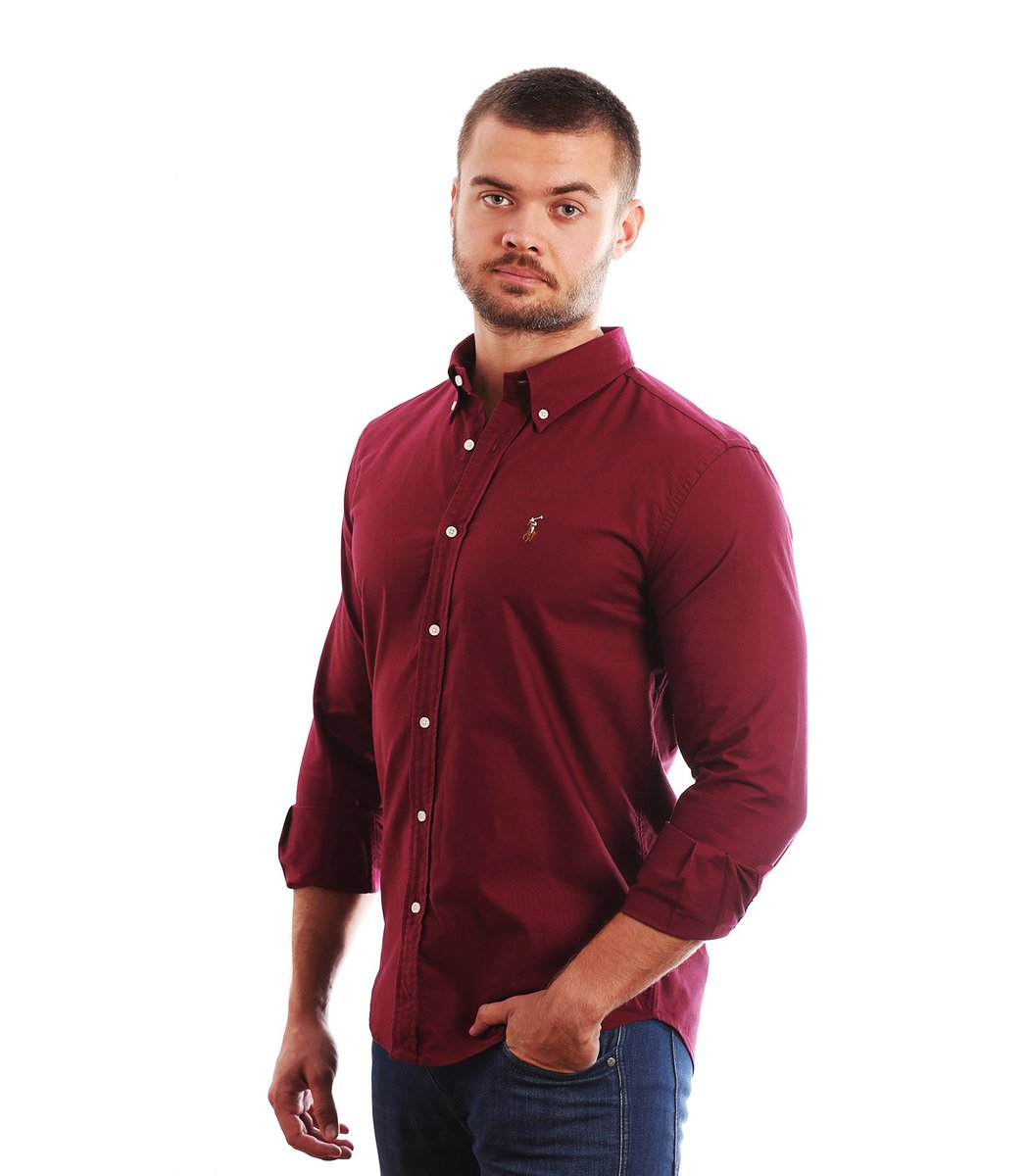 Рубашка POLO Ralph Lauren RR3 (Бордовый)