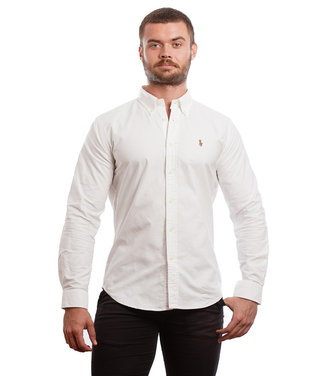 Рубашка POLO Ralph Lauren RR3 (Белый) - Белый - Вид 2
