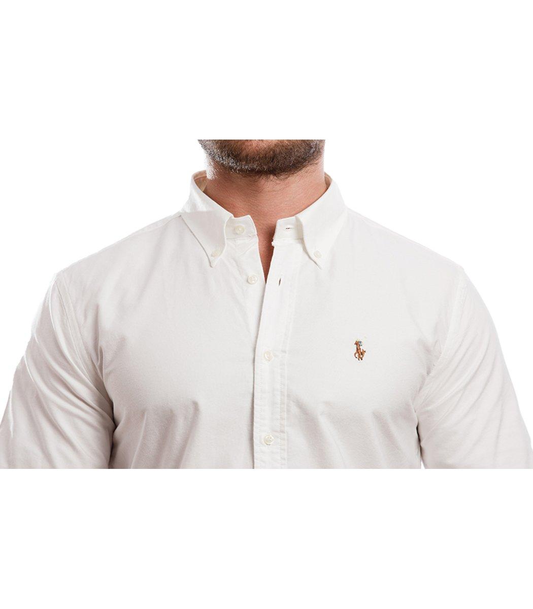Рубашка POLO Ralph Lauren RR3 (Белый) - Белый - Вид 5