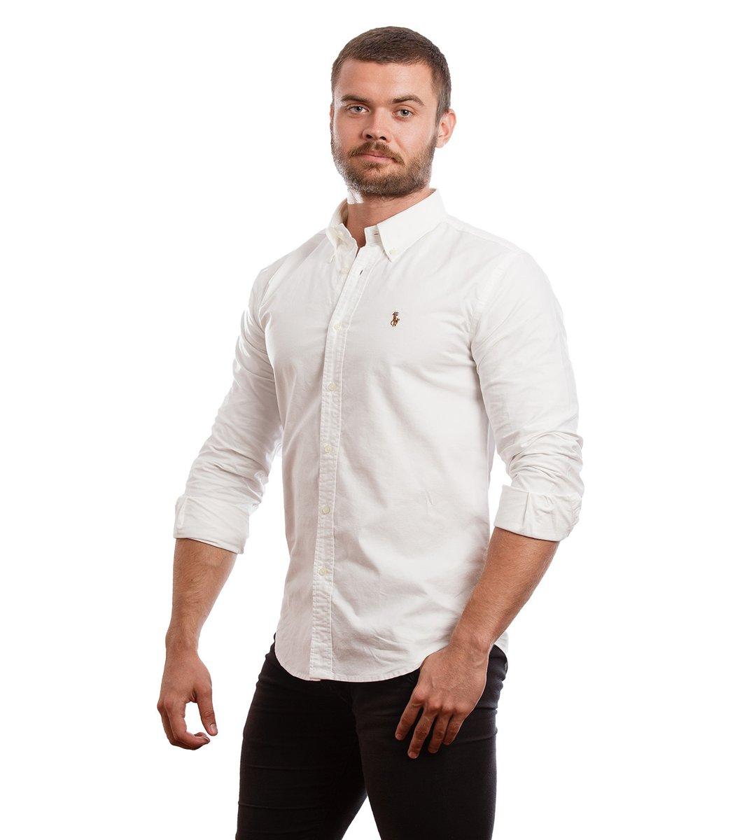 Рубашка POLO Ralph Lauren RR3 (Белый) - Белый - Вид 3