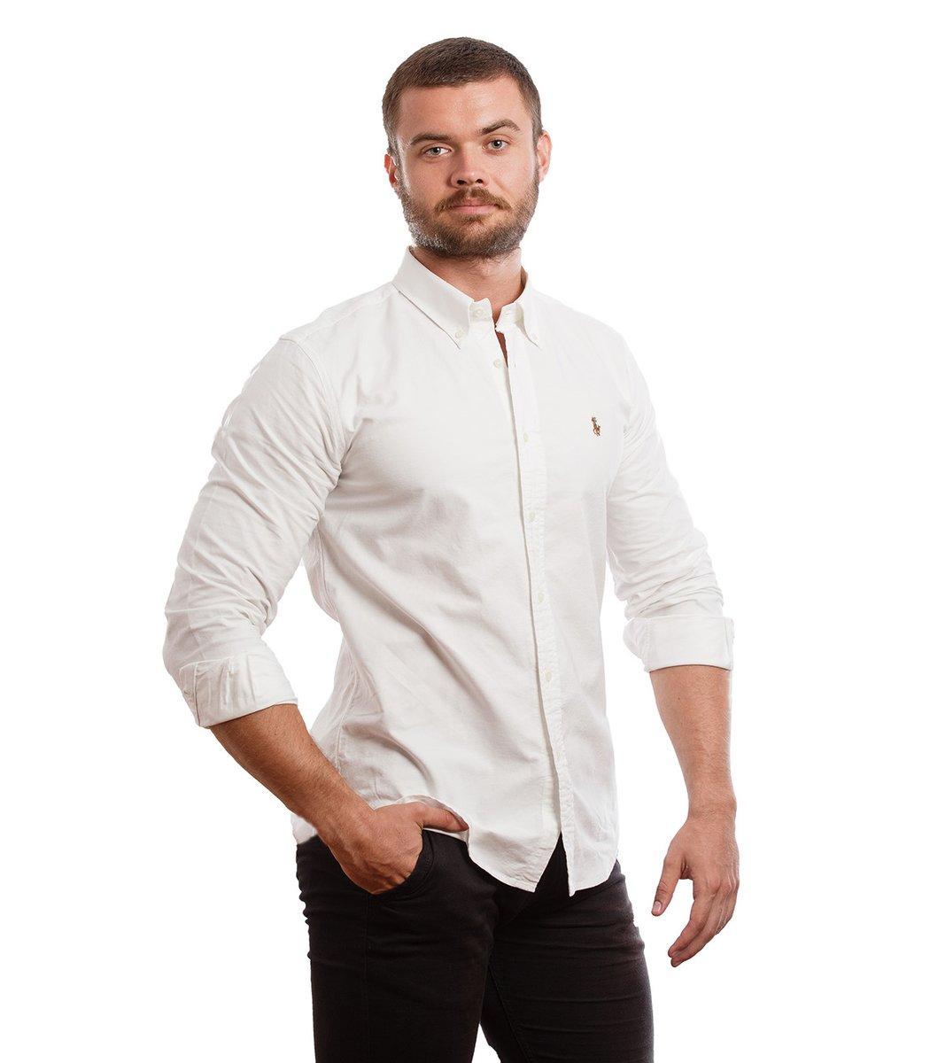 Рубашка POLO Ralph Lauren RR3 (Белый) - Белый - Вид 4