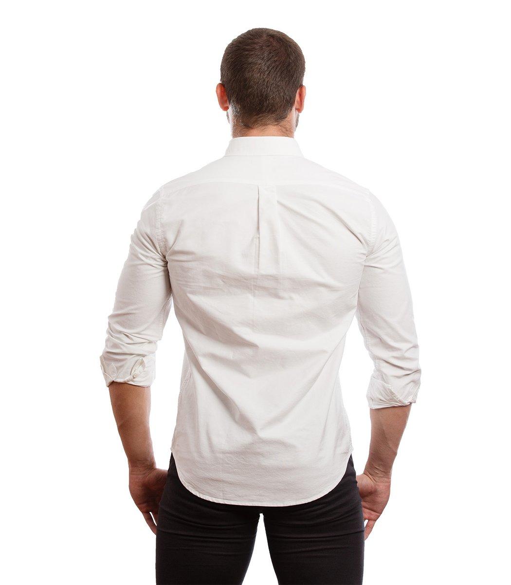 Рубашка POLO Ralph Lauren RR3 (Белый) - Белый - Вид 6