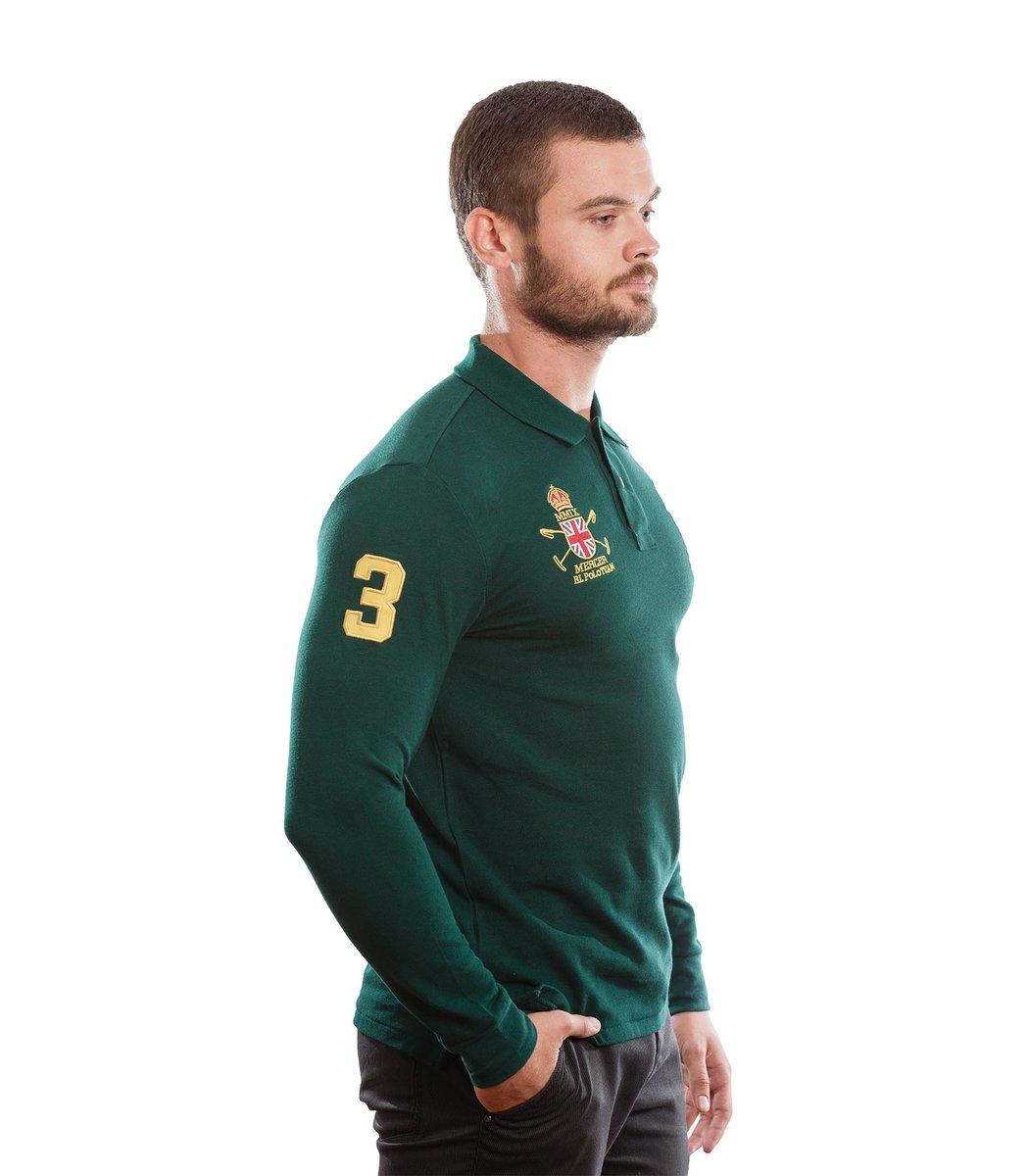 Поло с длинным рукавом POLO Ralph Lauren PR2 (Зеленый)