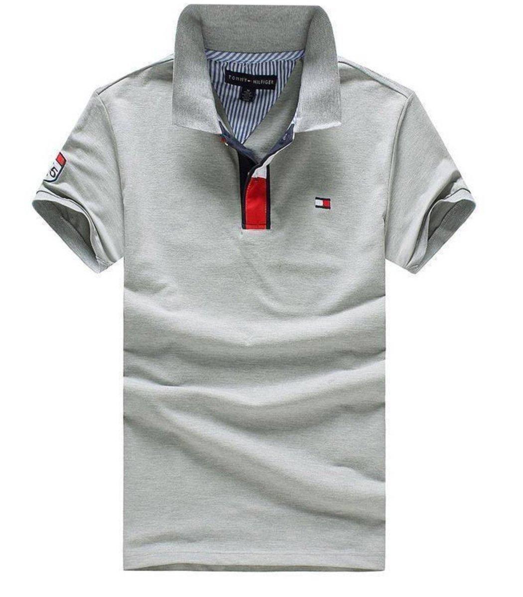 Серая футболка Tommy Hilfiger TH2