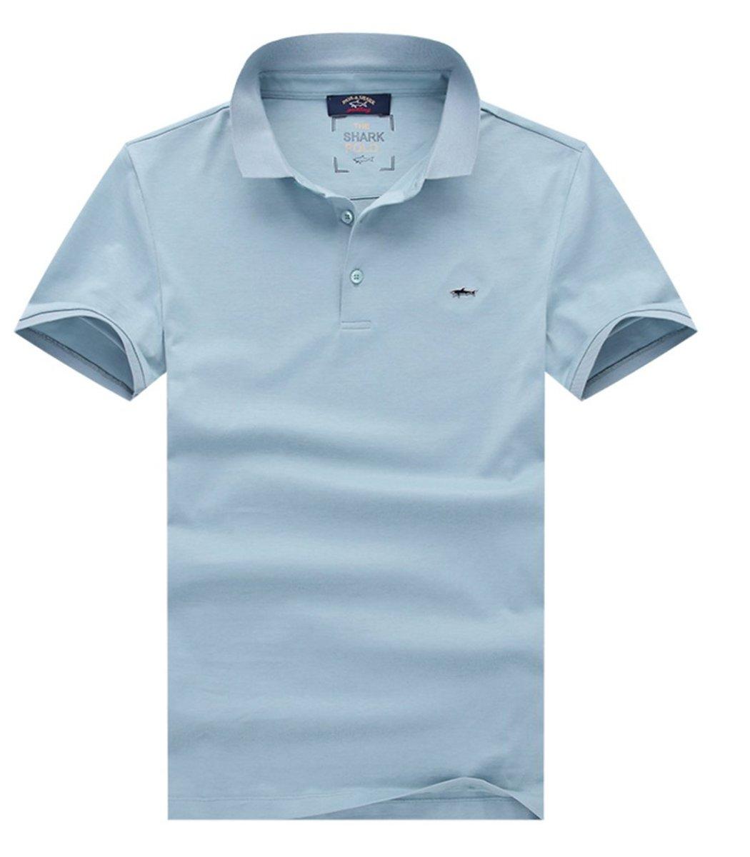 Светло синяя футболка Paul&Shark N001