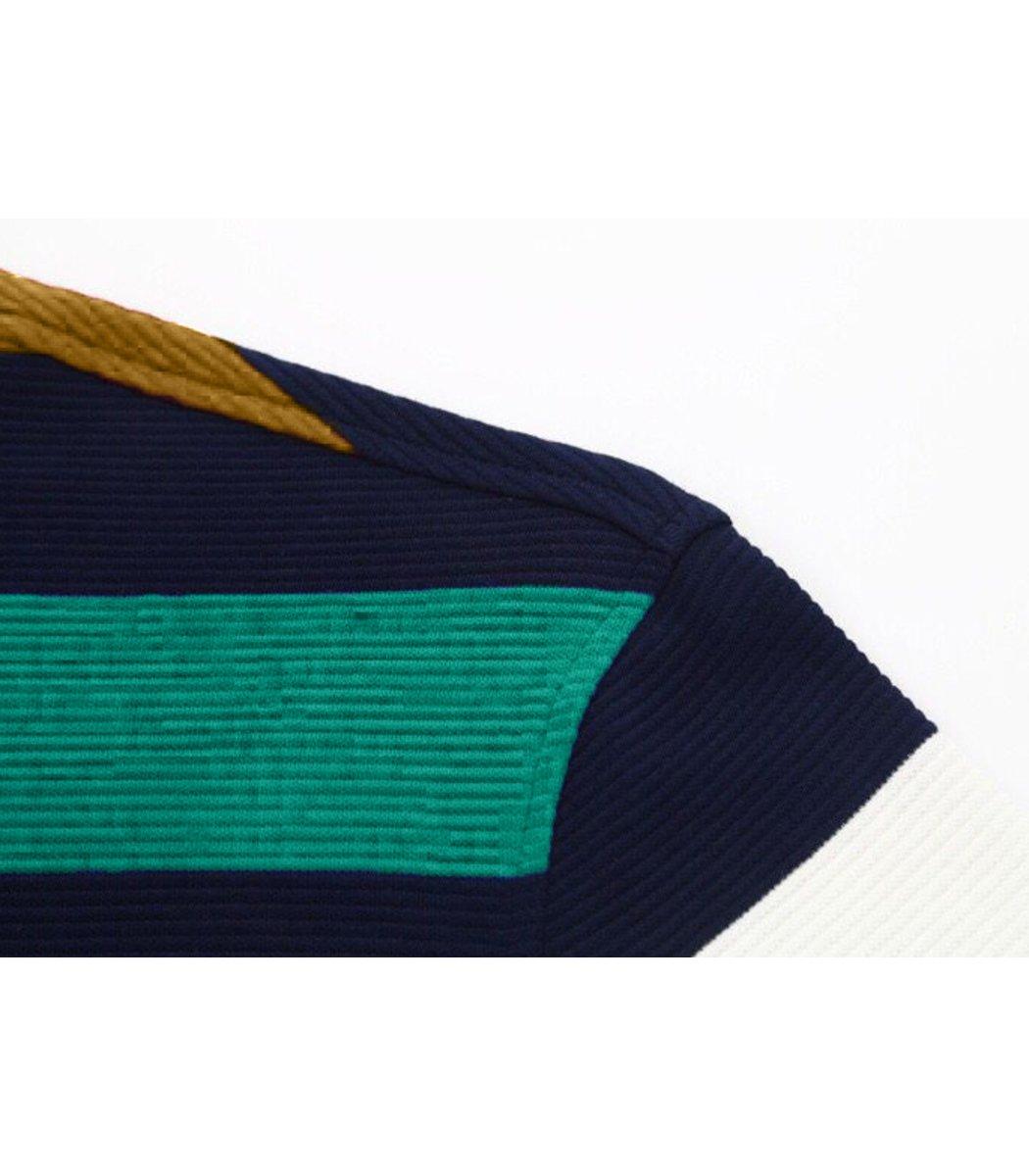 Поло с длинным рукавом Paul&Shark PP2 (Желтый/зеленый)