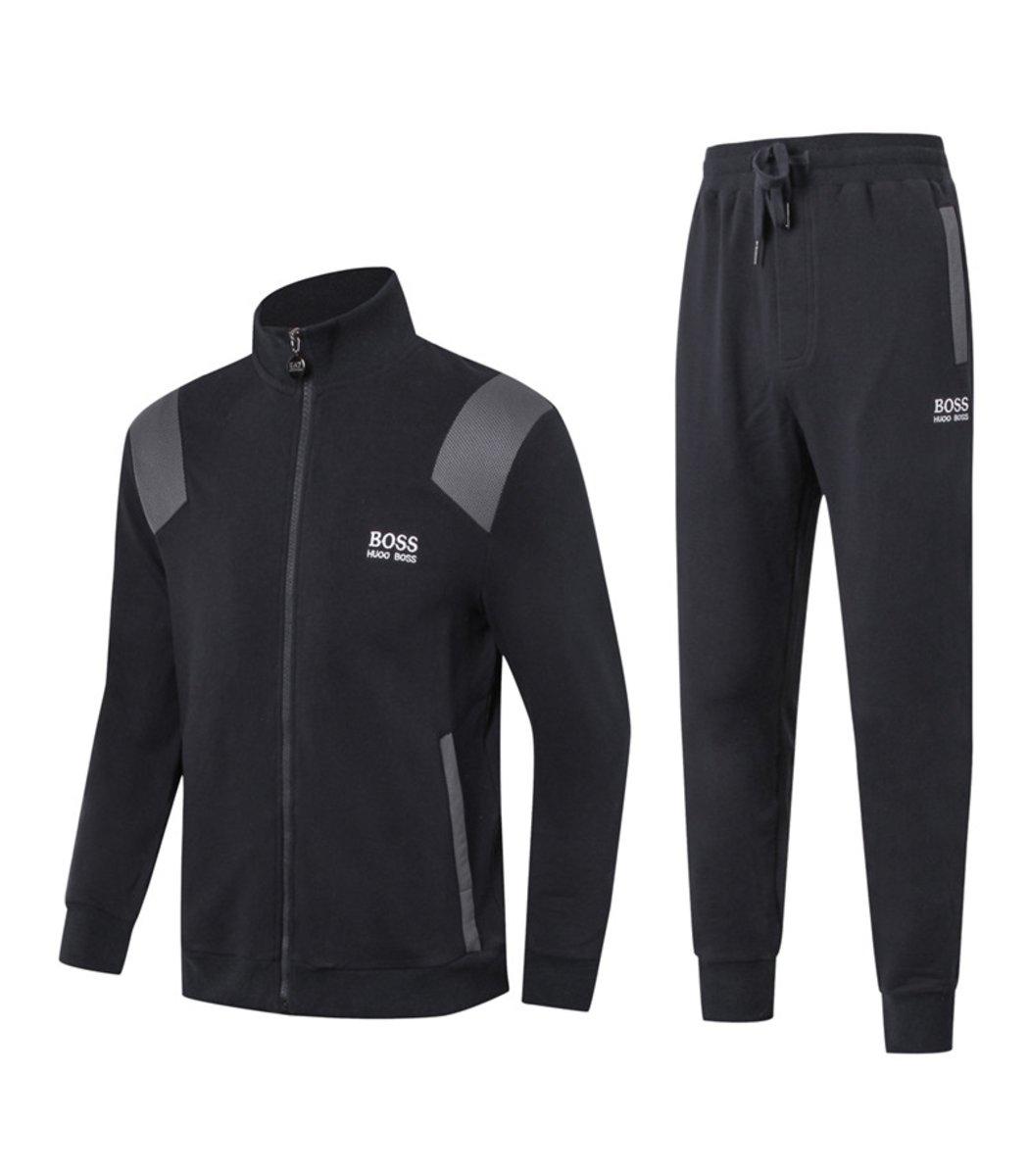Спортивный костюм Hugo Boss Training Черный - Черный - Вид 1