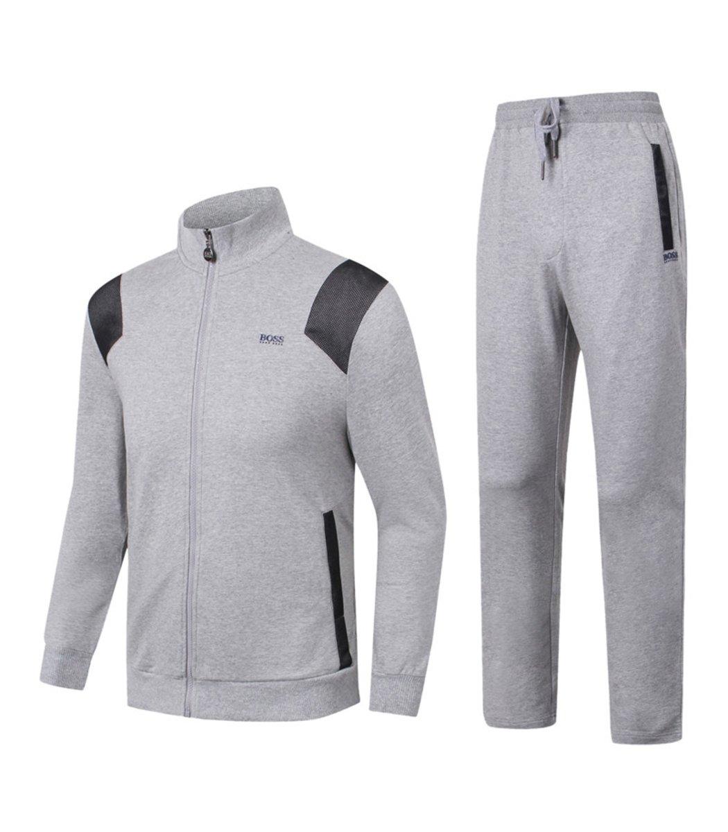 Спортивный костюм Hugo Boss Training Серый - Серый - Вид 1